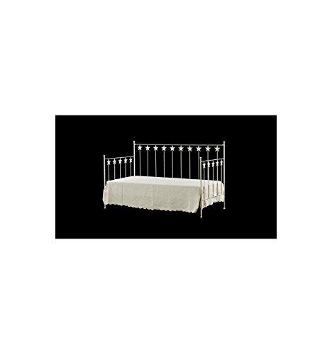 Sofá cama de forja Estrella - Azul Caspio