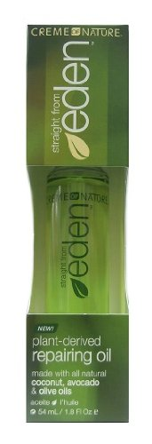 Creme of Nature Straight From Eden répare et Oil 54 ml