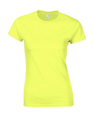 Gildan T-Shirt 'Fitted Ring Spun' 64000L,Farbe:Cornsilk;Größe:XXL (64000l T-shirt)