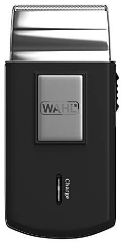 Wahl 03615-1016 - Afeitadora (Máquina de afeitar de láminas, 0,4 mm, Negro, Plata, AC/Batería, Níquel-metal hidruro (NiMH), 45 min)