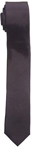 Celio - Pcitiefine - Cravate - Uni - Homme - Noir - Taille unique (Taille fabricant : Taille unique)