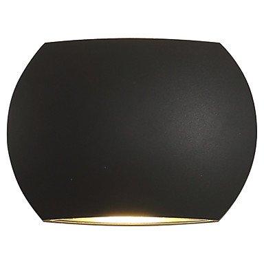 Land-schwarzes Finish (WYFC Ac 85-265 6 led integrierte moderne / zeitgenössische moderne / zeitgenössische Land schwarz Oxid Finish-Funktion für LED. Umgebungslicht . dark gray)