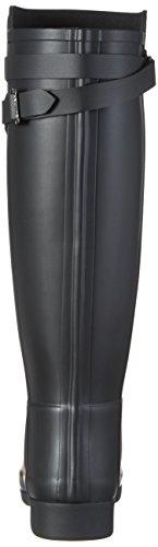 Hunter W Org Tall Bt Bottes En Caoutchouc, Raffinées B, Noir (noir)