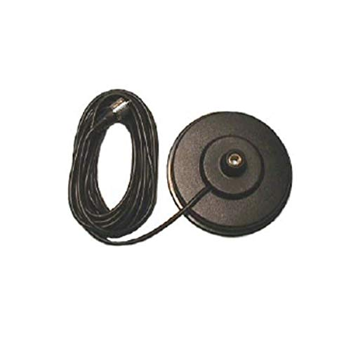 "Pro Trucker 5"" CB Radio Antenna Magnet Mount with 18' Coax and PL-259 Connector - Black"