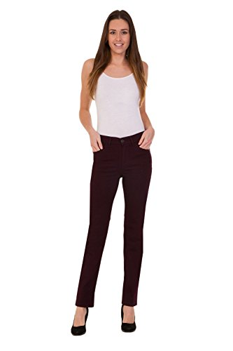 FashionLabels4Less Ex M&S Collection 6339 Ladies Straight Leg Denim Jeans Added Stretch