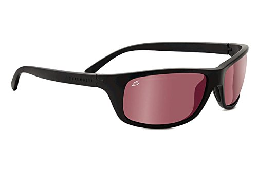 Medium Grey Satin (Serengeti Eyewear Erwachsene Bormio Sonnenbrille, Satin Grey, Medium)