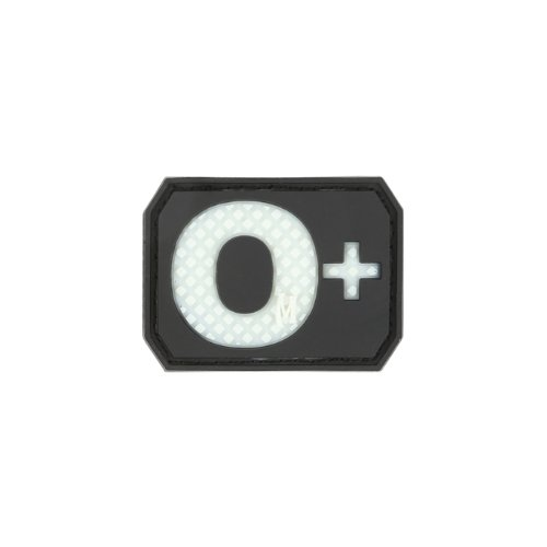 O+ POS Blood Type Patch - Blood Type Patches