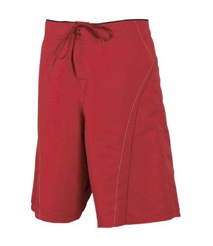 Tombo - Short de sport -  Homme Rouge - Rouge/noir