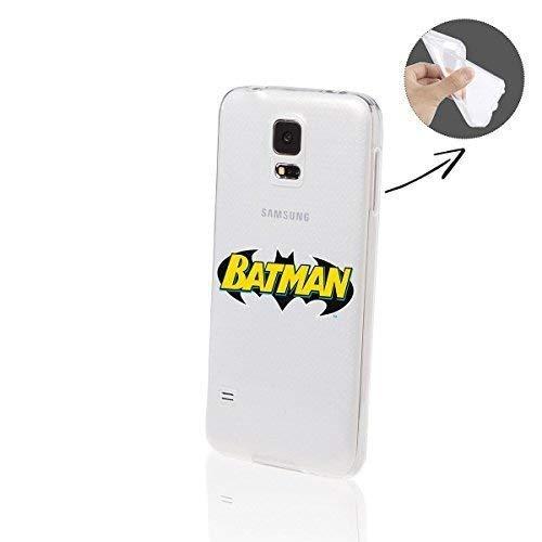Batman Séries Silicone Samsung Galaxy S5 - Batman police sur logo, Samsung Galaxy S5 Neo