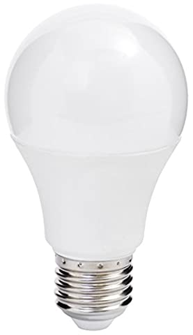 MÜLLER-LICHT 400006 A+, LED Lampe Birnenform Essentials ersetzt 40 W, Plastik, 5.5 W, E27, weiß, 10.9 x 6 x 6 cm
