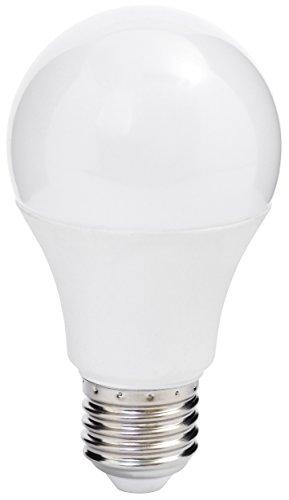 Led-energiespar-lampen (Müller-Licht LED Lampe Birnenform Essentials ersetzt 60 W Plastik E27, 9 W, Weiß 1er)