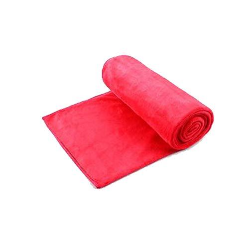 Autowaschtuch, Hirschleder-Handtuch, Reinigungstuch, Autozubehör, sauberes Handtuch, rot/braun Größe 60 * 160 cm (1 Stück) (Color : Red)