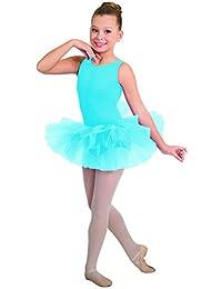 Body Wrappers 2084 Girls Princess Aurora Tutu Perfect Stiff Diamond Net Tulle Tutu