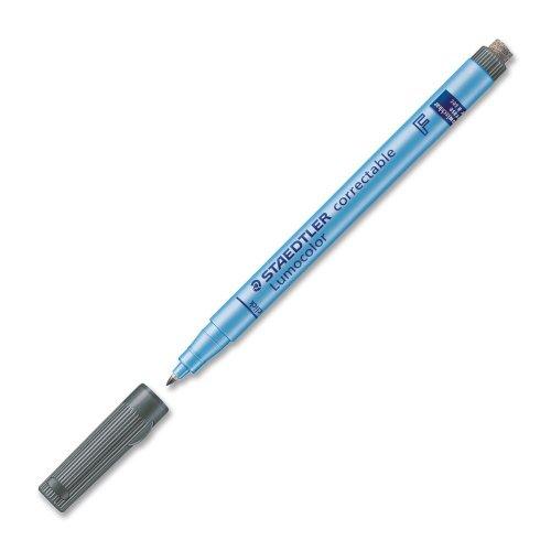 staedtler-lumocolor-correctable-305-feutre-non-permanent-effacable-a-sec-pointe-fine-06-mm-noir