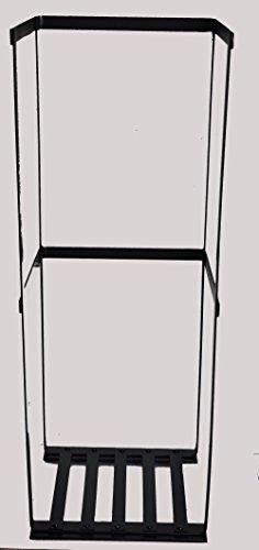 Slim and Tall Rectangle Log Basket