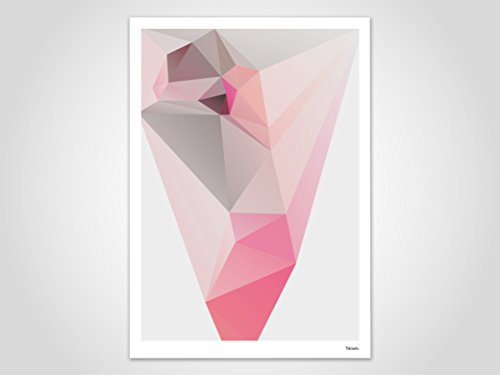 Asia / Poster, Bild, Kunstdruck, Skandinavisch (Valentinstag Freundschaft Karten)