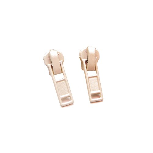 inge beige - 2 Stück - Ohrstecker retro fashion Ohrring ()
