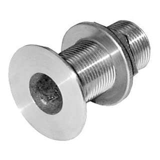 Groco 2-Inch Thru-Hull with Grounding Nut by Acr Electronics