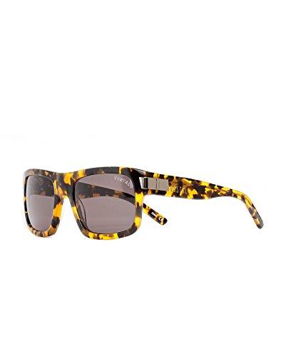 Vestal Damen Theremin Sonnenbrille one size schwarz und gold Chunky deliktrechts/grau
