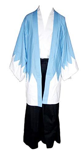 Chong Seng CHIUS Cosplay Costume Outfit for Ichimura Tetsunosuke Blue Kendo Version 1 - Pe-uniformen