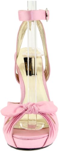 Ladies Rosa Sandali B Aperti Pinup Raso 04 Couture Bettie qSx85w