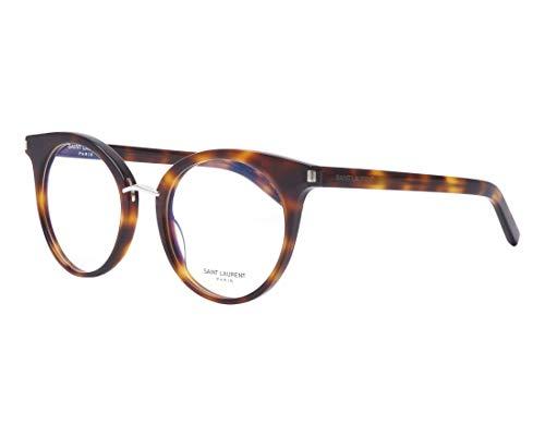 Yves Saint Laurent Brille (SL-221 003) Acetate Kunststoff havana - silber
