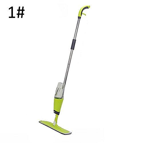 Alftek Spray-Mopp-Boden-Dampfer-Fliesen-hartes Holz-Reiniger-Hauptküchen-Badezimmer-Reinigungs-Werkzeuge 500ml (Hartholz-dampfer)