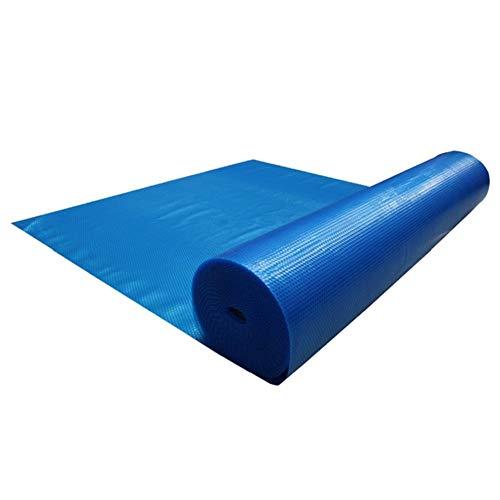 Bâche Couverture Solaire for Piscine, Couverture chauffante for piscines Hors Sol - Rectangulaire - Bleu - 600 cm (Size : 3X6m)