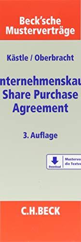 Unternehmenskauf - Share Purchase Agreement