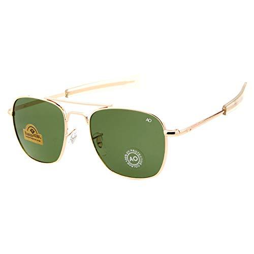 SJZV Sonnenbrillen für Männer Metallrahmen polarisierte leichte Brille geben Vater Mann Kind Geschenk