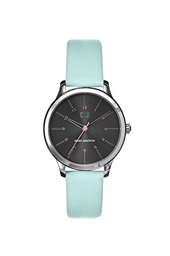 Mark Maddox Women's Analogue Quartz Watch with Leather Strap MC7100-57