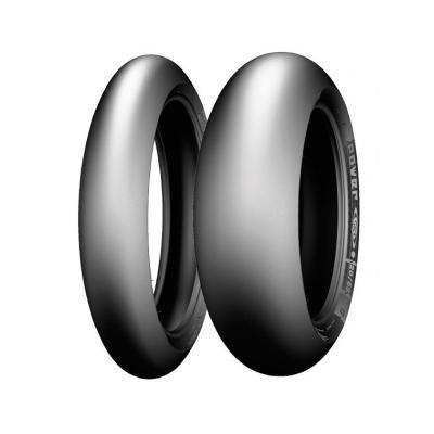 Preisvergleich Produktbild Michelin 200 / 55 ZR17 78 W Power Slick Evo NHS – 55 / 55 / R17 78 W – A / A / 70dB – Motorrad Reifen