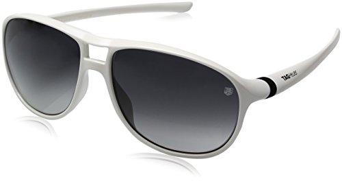 TAG Heuer Herren Sonnenbrille weiß weiß L