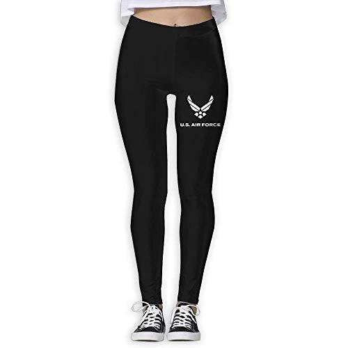 Deglogse Yogahosen, Trainingsgamaschen,Hugya US Air Force Women's High Waist Yoga Pants Skinny Pants (Air Force Trainingshose)