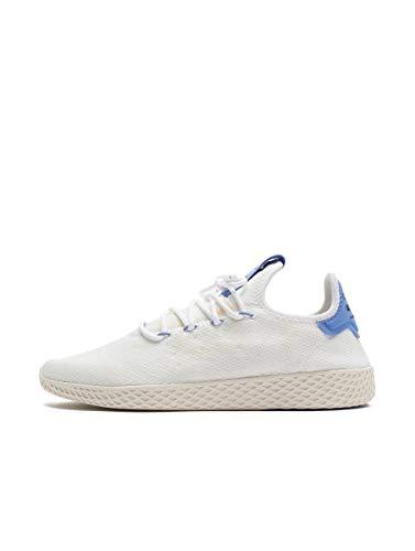 adidas Herren Pw Tennis Hu Sneaker, Mehrfarbig (Ftwbla/Lilrea/Blatiz 000), 45 1/3 - Hu Pharell Adidas Williams Tennis