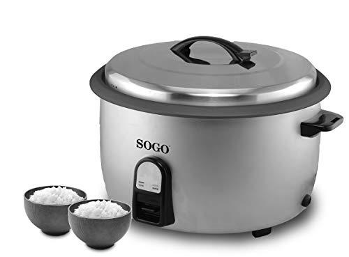SOGO SS-10770 - Cuociriso Professionale Elettrico con capacità di 5,6 Litri. Ideale per ristoranti...