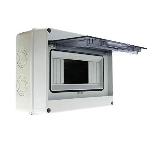 Cablematic - Caja de distribución eléctrica SPN 8M IP65 de superfici