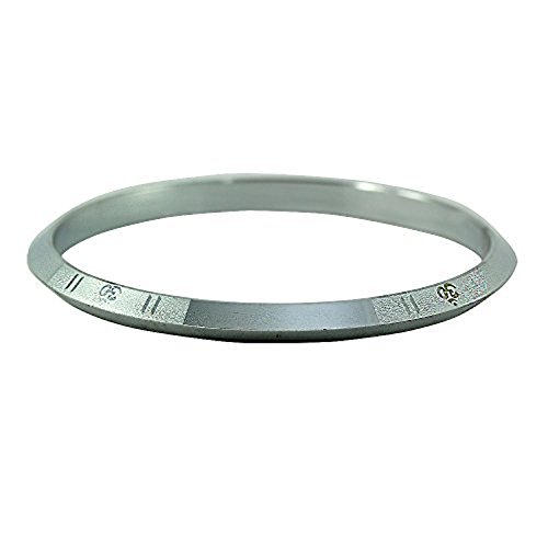 Letstrendy Silver OM Kada for Men's & Boys with Silver polish. LT-KA-22.