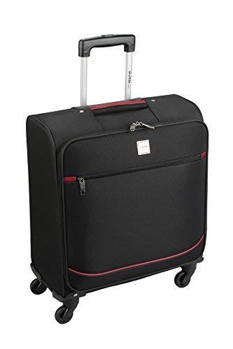 Valigetta trolley con 4 ruote da mano, per cabina, Skyflite approvata da British Airways Misure: 56x 45x 25cm nero Black Small - 56 x 45 x 25 cm - 2.9 kg