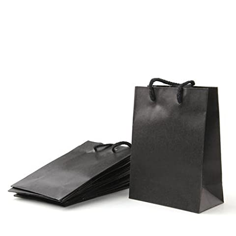 FACILLA® 10 X Sac Pochette De Cadeau En Papier Kraft
