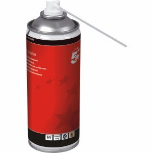 Preisvergleich Produktbild 5 Star Druckluftspray (HFC-frei, komprimiertes Gas, entflammbar), 400ml Druckluftspray
