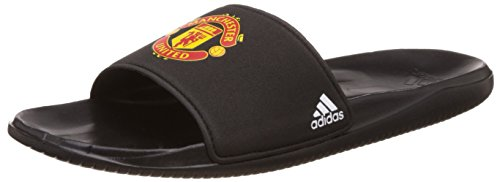 adidas-herren-mufc-slide-flip-flops-schwarz-negbas-ftwbla-negbas-42-eu