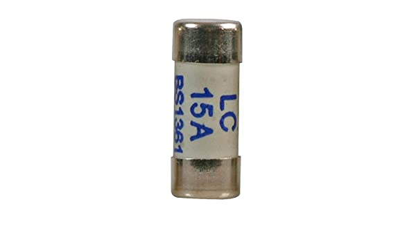 10.3mm x 25.8mm 15A LC Fuse