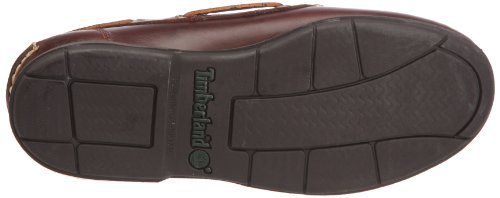 Timberland Icon 2-Eye, Mocassins homme Marron foncé (Rootbeer Smooth)