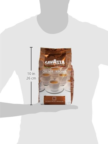 Lavazza Crema e Aroma Coffee Beans 1Kg (Pack of 1)