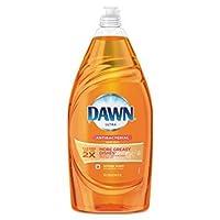 Dawn Liquid Dish Detergent Antibacterial Orange Scent 342 Oz Bottle