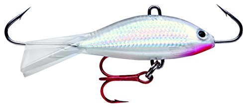 Rapala Jigs Shad Rap 05 Angeln Lure, 2 Zoll, Pearl (Fishing Rapala Ice Jigging)