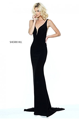 sherri-hill-black-50940-plunge-neck-long-jersey-dress-uk-10-us-6