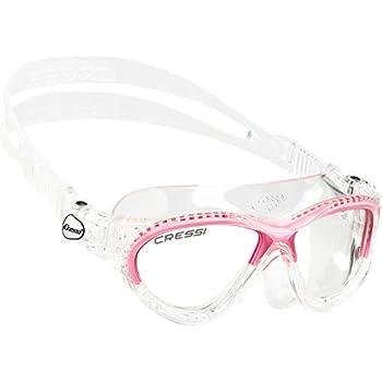 Cressi Swim Gafas de natación, niña, Transparente/Rosa, 7/15 Años