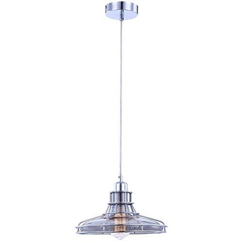 Pendel Hänge Leuchte Esszimmer Glas Chrom Beleuchtung Esstisch Metall 2700 Kelvin Rauch-glas-esstisch